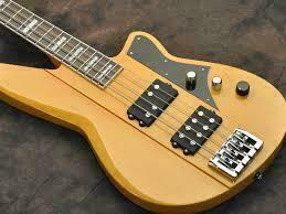 reverend thundergun bass vintage clear vintage modern guitars. Black Bedroom Furniture Sets. Home Design Ideas