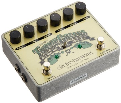 ehx turnip greens vintage modern guitars. Black Bedroom Furniture Sets. Home Design Ideas