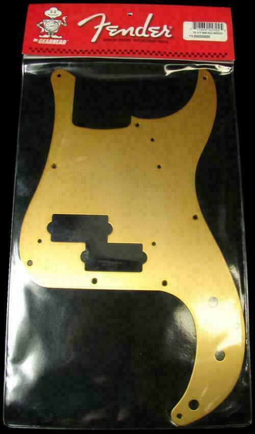 Taylor Guitars For Sale >> Fender Pickguard - P Bass Gold - Vintage & Modern Guitars