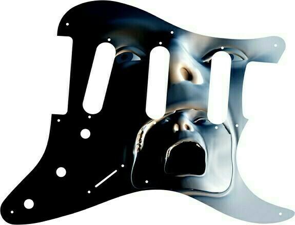 Greasy Groove Pickguard - Stratocaster Facial Escape