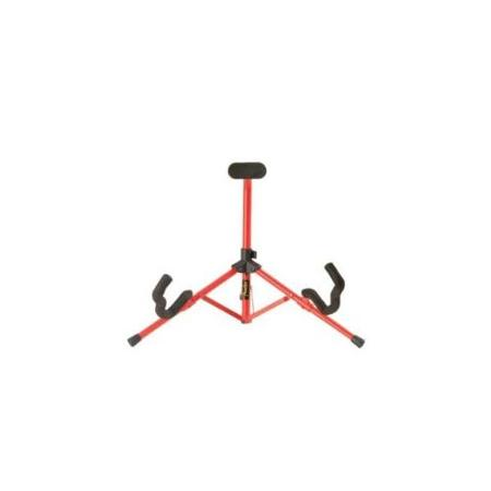 Fender Mini Guitar Stand Red Acoustic And Electric