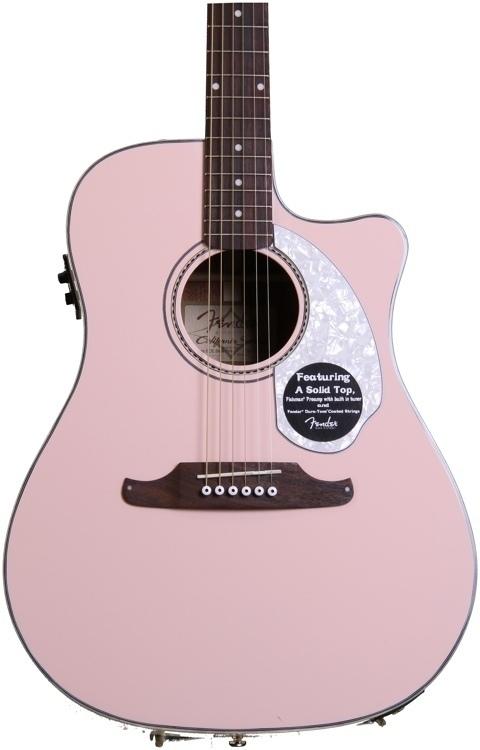 fender sonoran sce shell pink vintage modern guitars. Black Bedroom Furniture Sets. Home Design Ideas