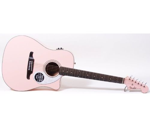 abe2a751bc Fender Sonoran SCE Shell Pink - Vintage & Modern Guitars
