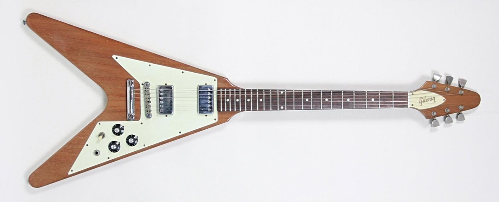 1975 gibson flying v vintage modern guitars. Black Bedroom Furniture Sets. Home Design Ideas