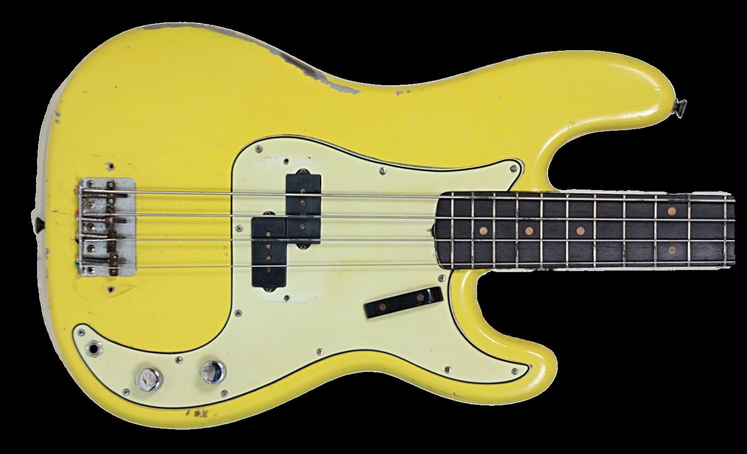 1963 Fender Precision Bass Vintage Amp Modern Guitars