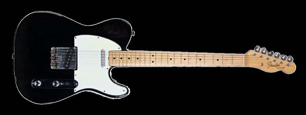 1966 Fender Telecaster Factory Custom Colour Black