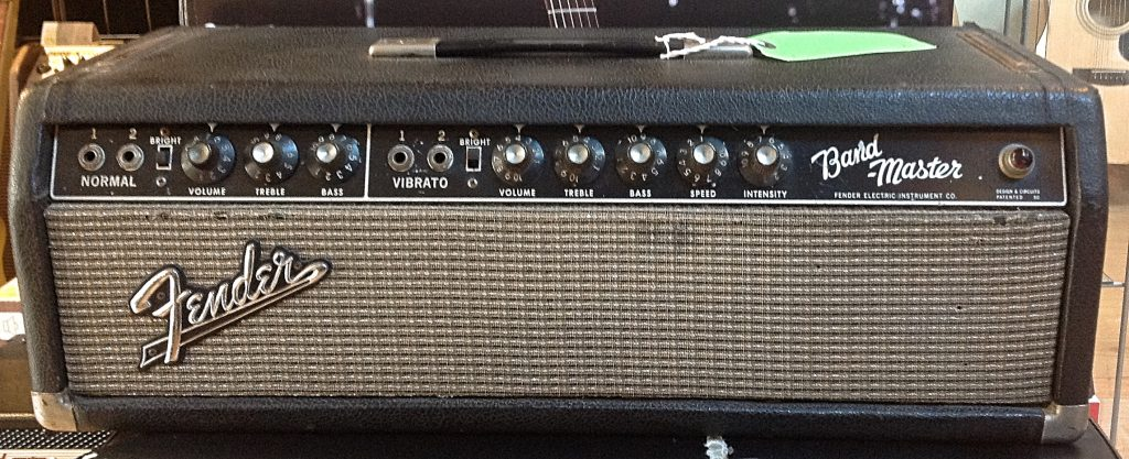 1966 Fender Bandmaster Head Vintage Amp Modern Guitars
