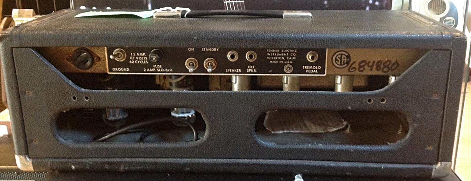 1966 Fender Bandmaster Head