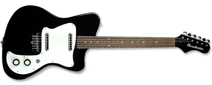 danelectro 39 67 guitar black vintage modern guitars. Black Bedroom Furniture Sets. Home Design Ideas