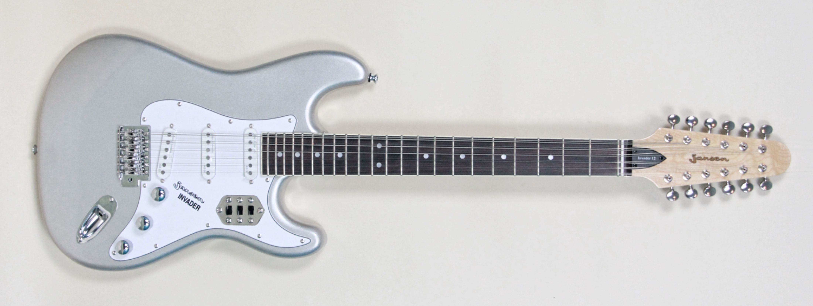Jansen Invader 12 String Guitar Inca Silver Vintage Modern Guitars