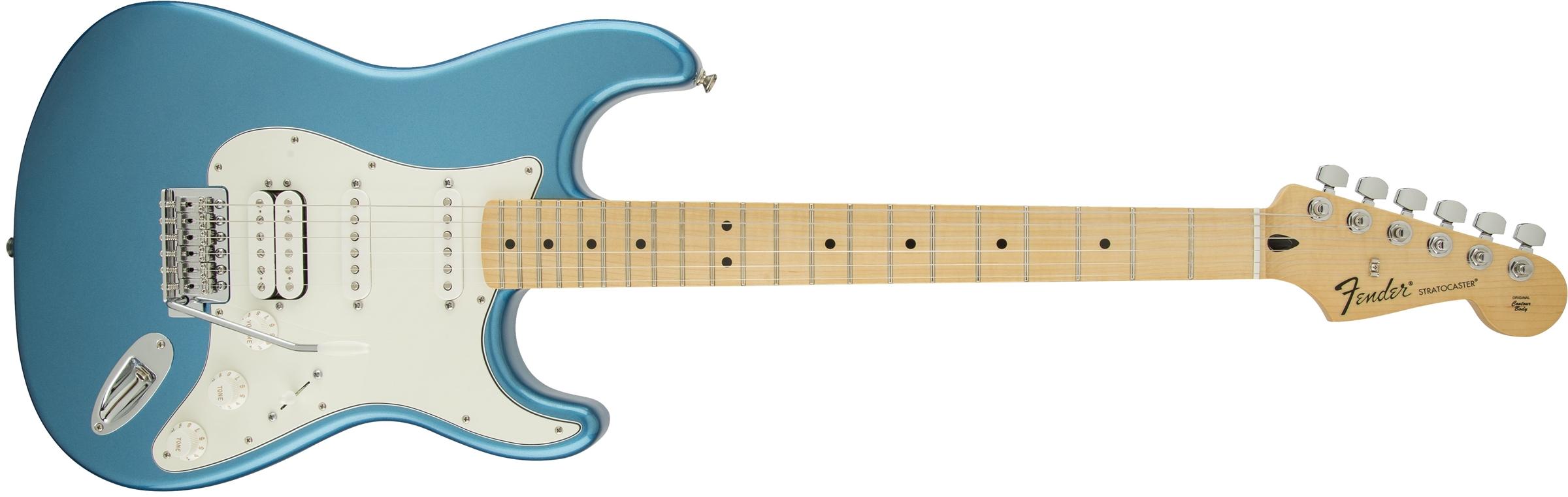 Duesenberg For Sale >> Fender Standard Stratocaster® HSS, Lake Placid Blue ...