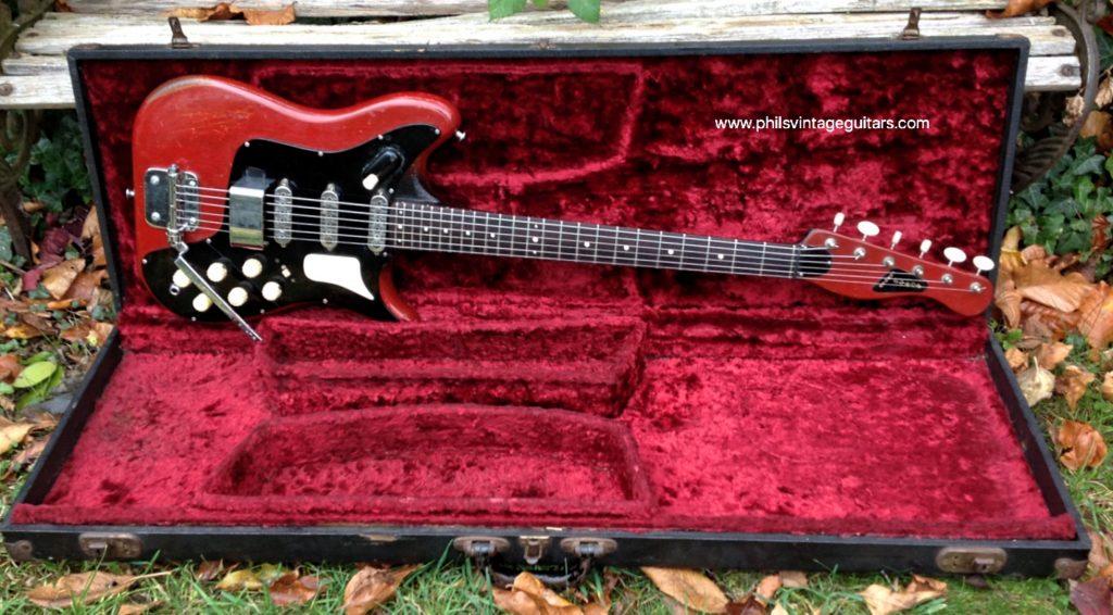 Taylor Guitars For Sale >> 1960 Burns Vibra Artist - Vintage & Modern Guitars