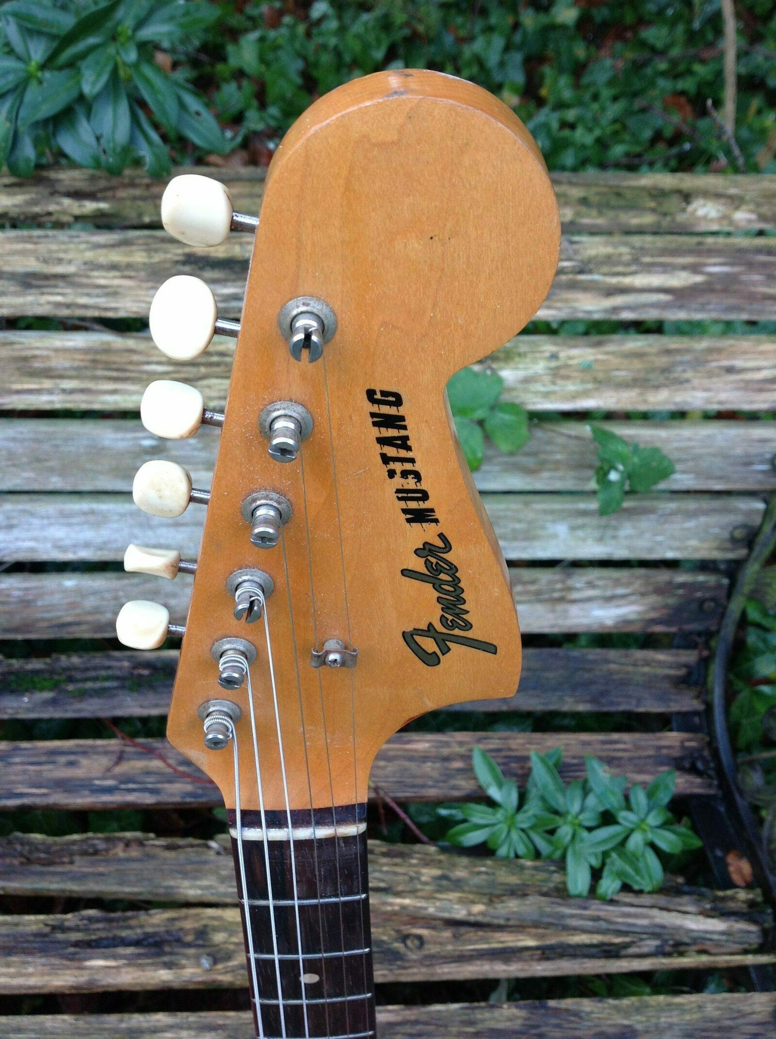 1964 Fender Mustang Olympic White