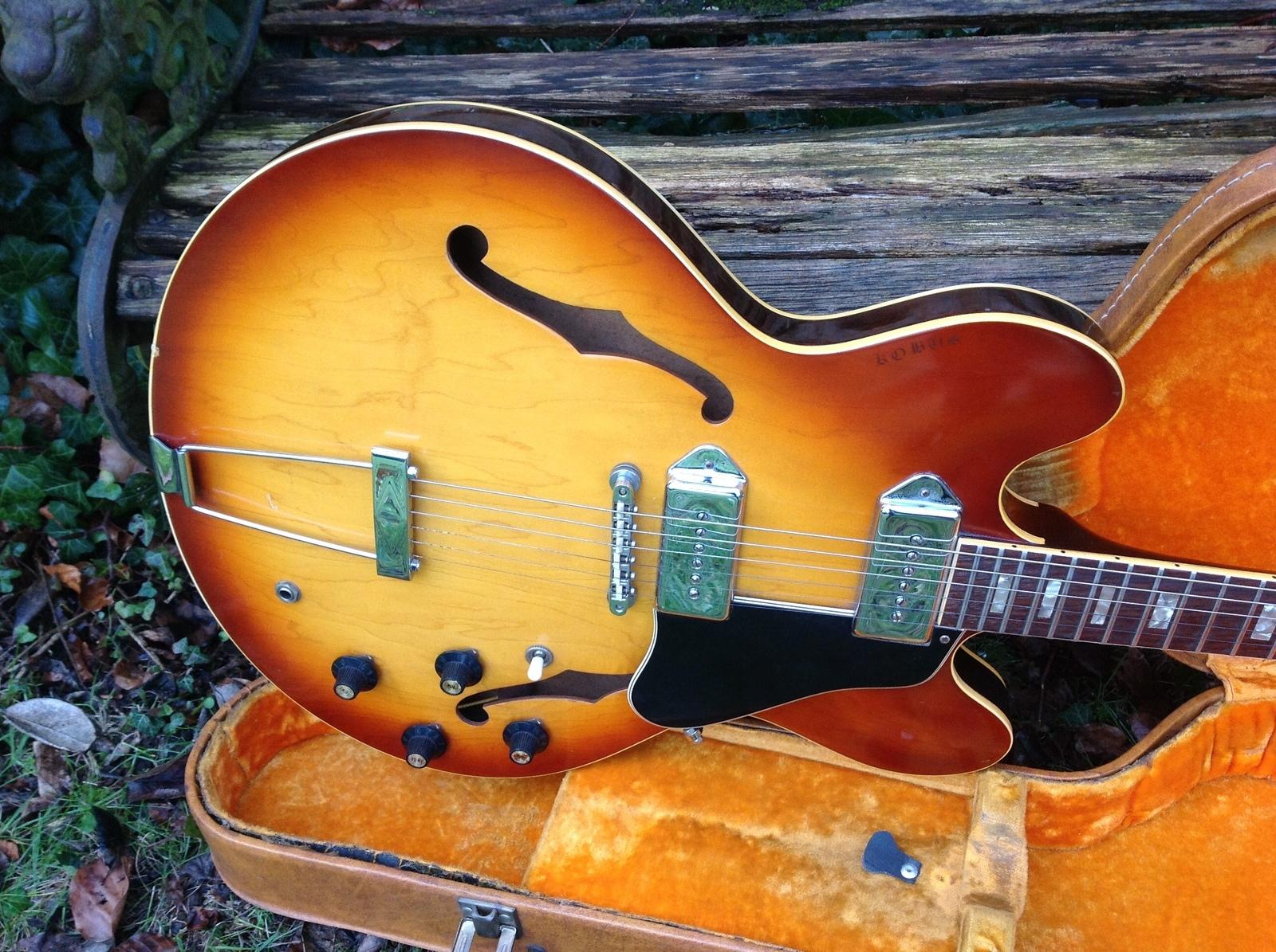 1969 gibson es 330 td vintage modern guitars. Black Bedroom Furniture Sets. Home Design Ideas