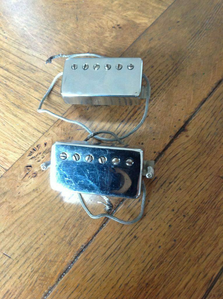1962 1965 gibson patent humbucker matched set vintage modern guitars. Black Bedroom Furniture Sets. Home Design Ideas